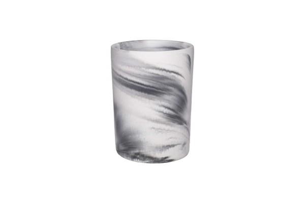 Vase Grow Marmoroptik