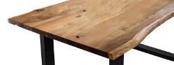 Vollholz-Tischplatte-Akazie