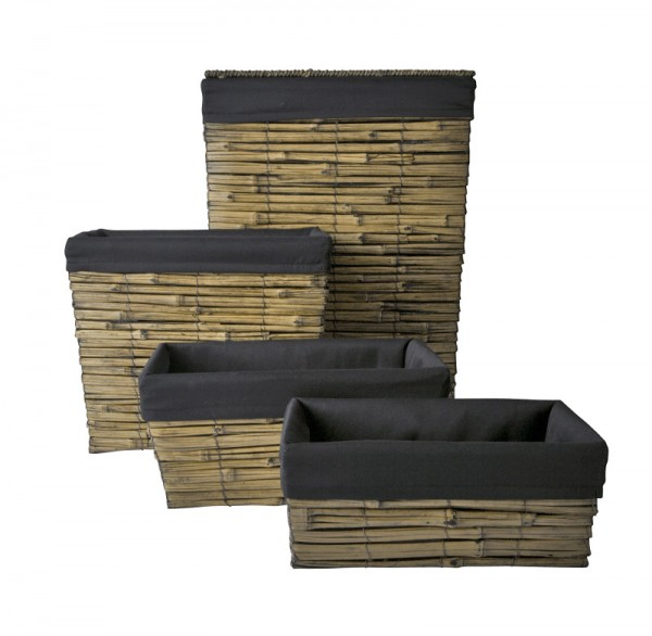 Korb Set aus Bambus