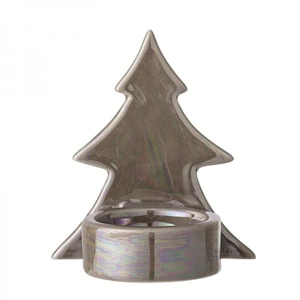 Teelichthalter mit Baumfigur