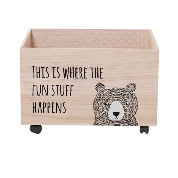 """""""Fun Stuff"""" Spielzeugbox"""