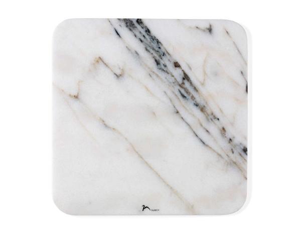 Nuance Servierplatte Marmor Weiß 462902