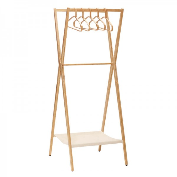 Garderobe aus Bambus